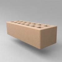 Кирпич пустотелый с фаской 0,7 нф - гладкий